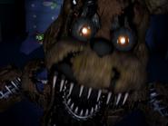 Nightmare freddy pierwszy jumpscare 22
