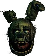 Springtrap Sticker Official Render