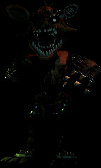 Phantom Foxy   Five Nights at Freddy's Wiki   FANDOM powered