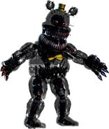 FNaF4 - Nightmare (Aclarado)