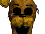 Withered golden freddy jumpscare 11