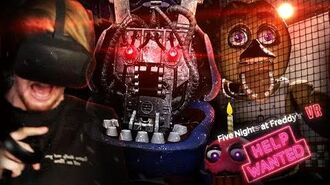FNAF IN VR.. I CAN NOT HANDLE THIS. FNAF VR Help Wanted (Part 1)