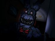 Nightmare bonnie pierwszy jumpscare 1