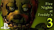 Five Nights at Freddy's 3 - PS4 Trailer