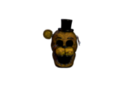 Withered golden freddy jumpscare 3
