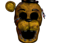 Withered golden freddy jumpscare 10