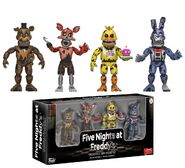 FNaF Collectible Figurine Set 3