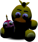 FNaF2 Peluche Chica