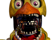 Withered chica jumpscare 8
