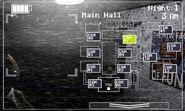 FNaF 2 (Móvil) - Main Hall (Toy Chica, derecha, luz apagada)