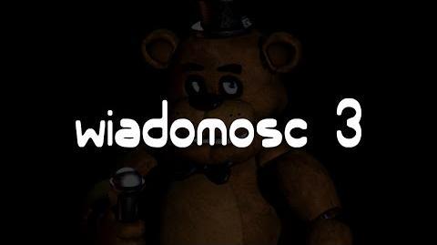 Five Nights at Freddy's - Wiadomość z nocy trzeciej Napisy PL