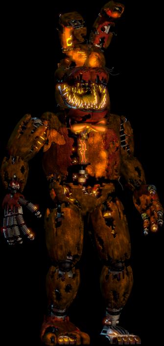 Nightmare Bonnie | Five Nights at Freddy's Wiki | FANDOM powered ...