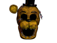 Withered golden freddy jumpscare 9
