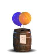 Balloon Barrel (Minijuego) - Barril 2 (FFPS)