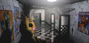 FNaF2 - Main Hall (Toy Chica - Iluminado)