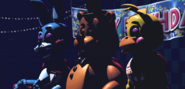 FNaF2 - Show Stage (Sin luces - Iluminado)