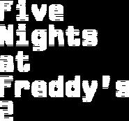 FNaF2 - Título (Texto)