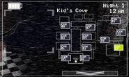 FNaF 2 (Móvil) - Kid's Cove (Derecha, luz apagada)