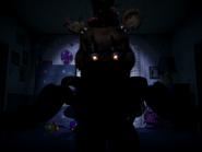 Nightmare freddy pierwszy jumpscare 7