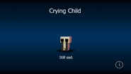Crying child load