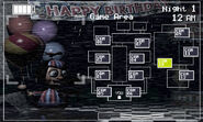 FNaF 2 (Móvil) - Game Area (BB, izquierda, luz apagada)