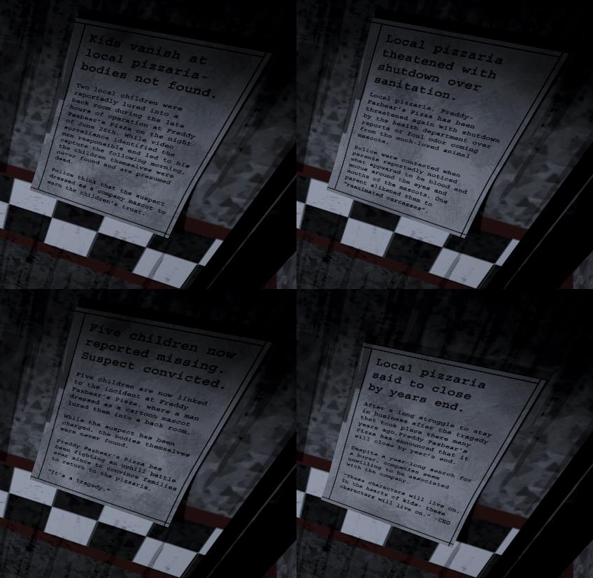 Plot | Five Nights at Freddy's Wiki | FANDOM powered by Wikia