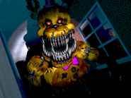 Fredbear righthall close brightened