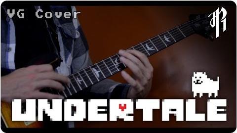 Undertale Megalovania - Metal Cover RichaadEB