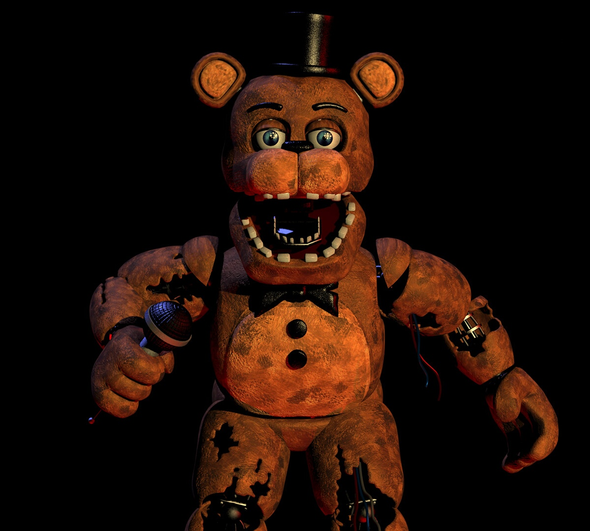 Freddy Fazbear/Withered | Five Nights at Freddy's Wiki | FANDOM