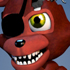 FNaFWorld - Adventure Withered Foxy (Icono)