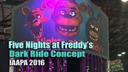 Five Nights at Freddy's Dark Ride Concept by Sally Corp - IAAPA 2016