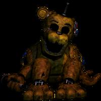 FNaF2 - Golden Freddy