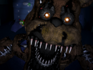 Nightmare freddy pierwszy jumpscare 21