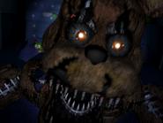 Nightmare freddy pierwszy jumpscare 23