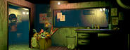 FNaF3 - Office (Phantom Mangle - Iluminado)