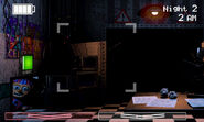 FNaF 2 (Móvil) - Office (Niño del Globo, Left Air Vent)