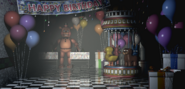 FNaF2 - Game Area (Toy Freddy sin BB - Iluminado)