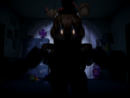 Nightmare freddy pierwszy jumpscare 6