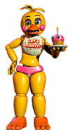 Toy chica full body thank you image