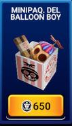 MinipaqueteDeBalloonBoy - Tienda - FNaFAR