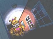 FNaF4 - Pasillo Derecho (Nightmare Fredbear - Iluminado)