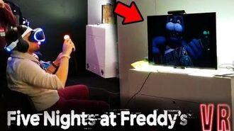 (EXCLUSIVE) WORKING ON ANIMATRONICS DEMO GAMEPLAY! Five Nights At Freddy's VR Help Wanted (FNAF)