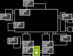 FNaF 1 - Mapa (Office)