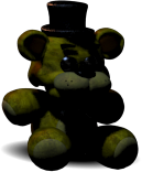 FNaF2 Peluche Golden Freddy