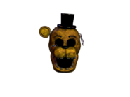 Withered golden freddy jumpscare 5