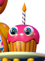 Toy Cupcake Icon