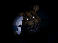 Nightmare freddy drugi jumpscare 17