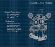 Molten Freddy - Cianotipo (FFPS)