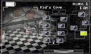 FNaF 2 (Móvil) - Kid's Cove (Mangle, derecha)