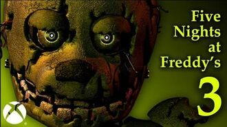 Five Nights at Freddy's 3 - Xbox One Trailer